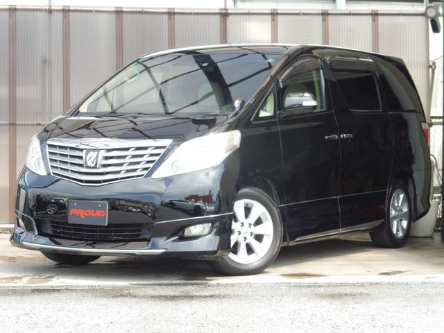 トヨタ 350G HDDナビ 地デジ 後席モニター 両側パワスラ