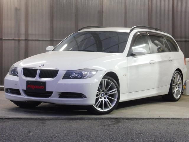 BMW 320iツーリング 社外HDDナビ TV HID MTモード