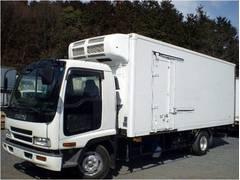 フォワード冷凍車 冷蔵車 保温車 中温 二室二層 4t 4トン 加温機