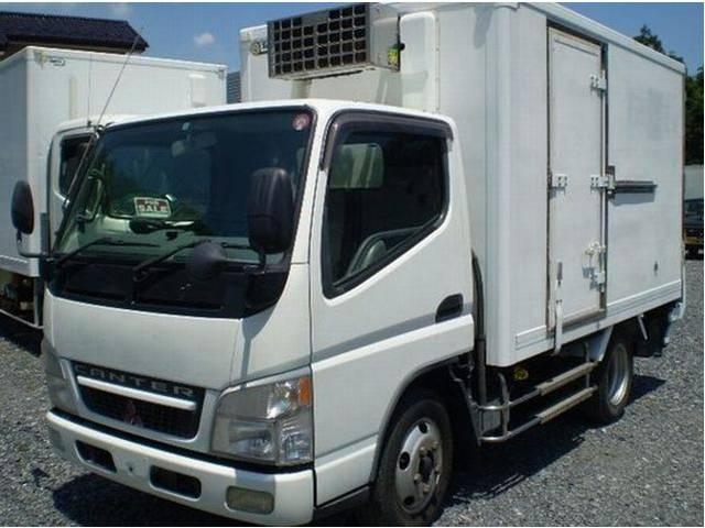 冷蔵冷凍車 パワーゲート 3t 3トン (1枚目)