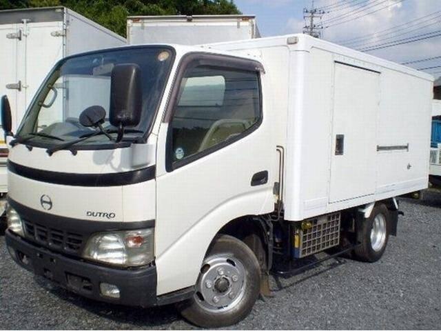 日野 冷凍冷蔵車  ショート 10尺2t