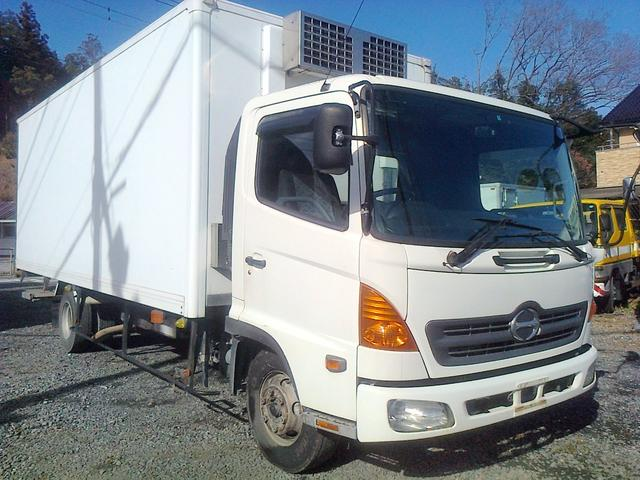 日野 ワイド 冷凍冷蔵車 冷凍車 格納パワーゲート シャッター