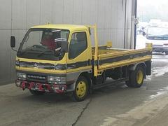 キャンター平ボディ 元道路作業車 構造変更要 4D33