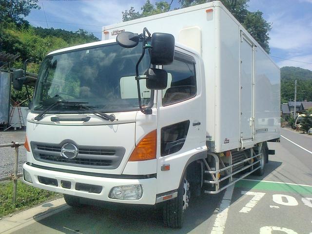 日野 増トン 冷凍車 冷凍冷蔵車 ワイド ロング ジョルダー