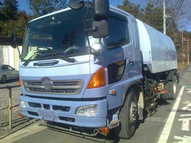 日野 ロードスイーパー 路面清掃車 加藤 KATO  HS-600