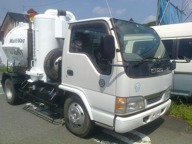 いすゞ バキュームダンパー 汚泥吸引車 加藤 MV-400C 吸引車