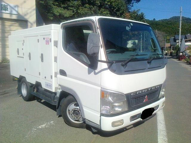 三菱ふそう キャンターガッツ 高圧洗浄車 シンショー PJB−2...