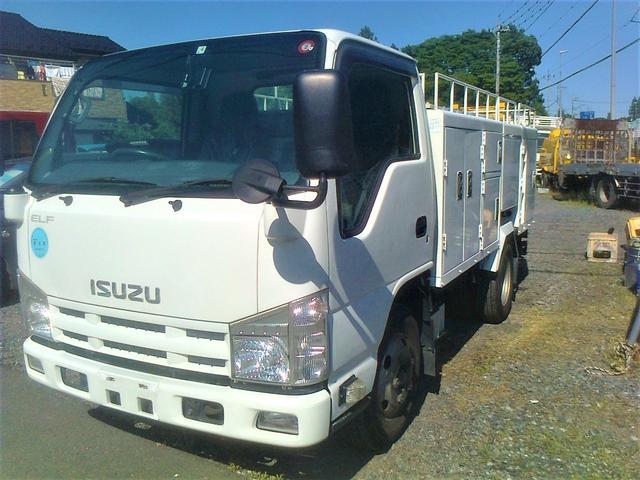 いすゞ 高圧洗浄車 新明和 ジェットクリーナー PTO GJ020