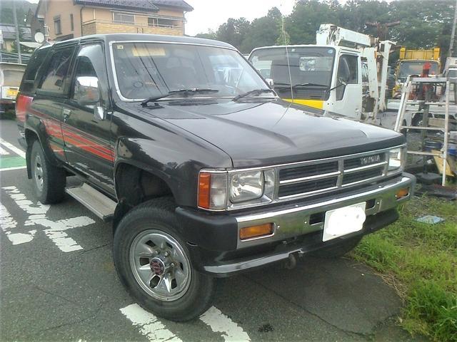 トヨタ SSR 4 ナンバー ディーゼル マニュアル 全塗装