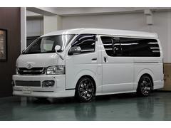 ハイエースバンロングワイドスーパーGL 外装 内装カスタム車
