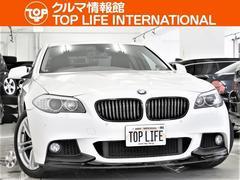 BMW528i黒革HDDナビ地デジBカメラMスポーツエアロ18AW