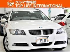 BMW325iツーリング 直6EGホワイト革キセノンナビTV禁煙車