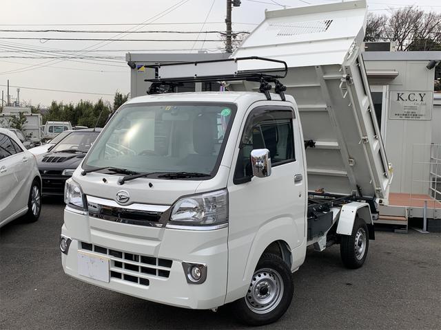 ダイハツ 多目的ダンプ エアコン パワステ 4WD ワンオーナー ナビ キーレス Bluetooth機能 ETC オートマ