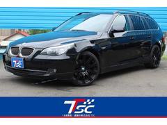 BMW525ツーリングハイライン黒革シートサンルーフ19インチAW