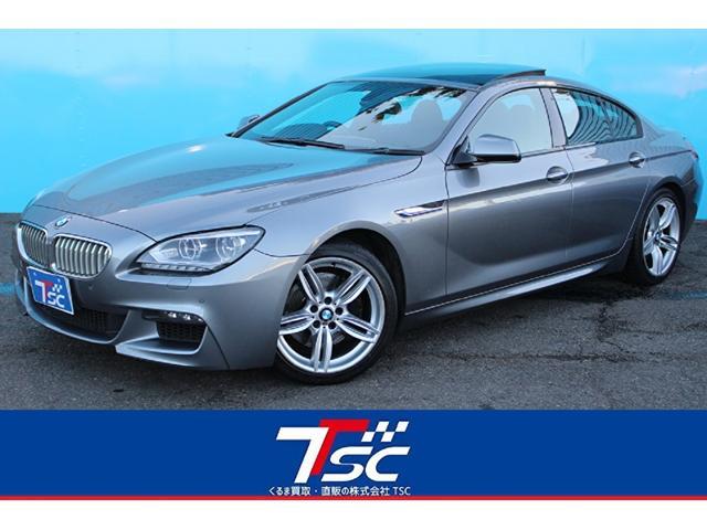 BMW 650iグランクーペ Mスポーツパッケージ/サンルーフ/レザーシート/ターボ/LEDヘッドライト/純正HDDナビ/フルセグ/バックカメラ/ETC/シートヒーター/オートクルーズ/スマートキー/ランフラットタイヤ/HUD