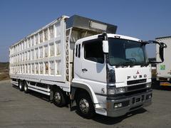 スーパーグレート鉄箱付 低床4軸 リヤリーフサス 鉄箱約60立米