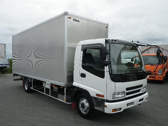いすゞ アルミバン 標準幅 ベッドレスキャビン 積載3.45トン