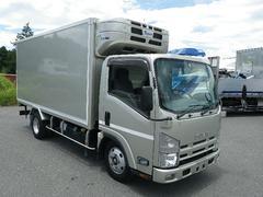 エルフトラック冷蔵冷凍車 中温仕様 横扉スライド式 全低床 床キーストン