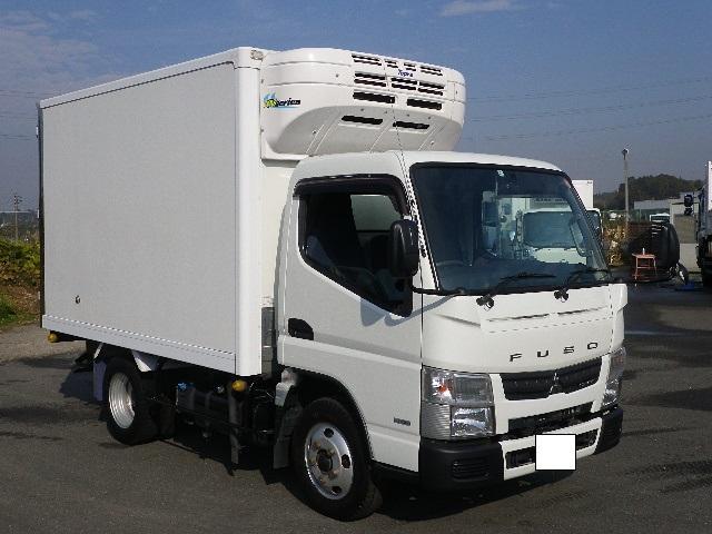 三菱ふそう 東プレ 中温 冷蔵冷凍車 全低床 車両総重量4885Kg