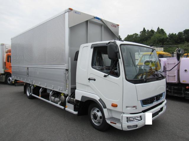 三菱ふそう ファイター  三菱   ファイター   ワイド幅   ベッド付キャビン   リヤエアサス   アルミウイング   燃料タンク200L   安全装備