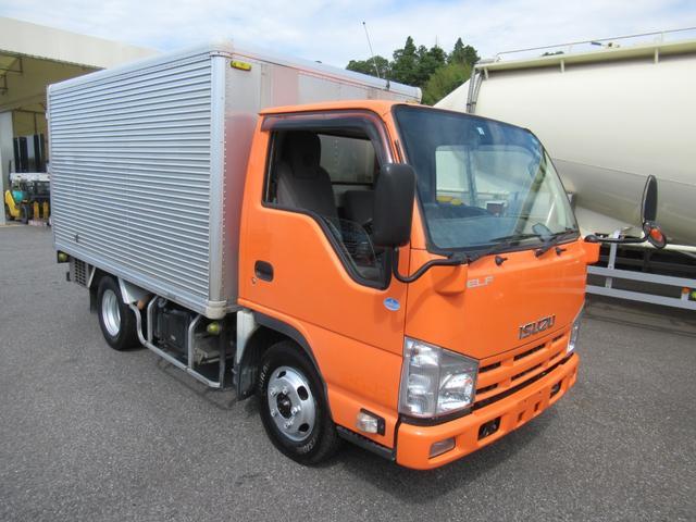 いすゞ エルフトラック  冷蔵冷凍車  中温仕様  横扉スライド式  車両総重量4845Kg