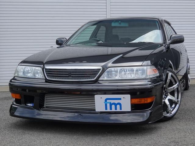 トヨタ ツアラーV 後期5速 D-MAX車高調 フルエアロ IC