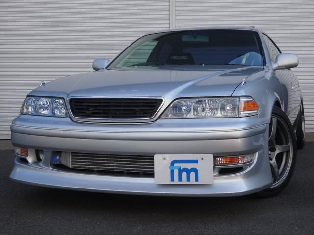 トヨタ マークII ツアラーV 純正5速 サンルーフ HKS TO4Zフルタービン HKSフルタップ車高調 トラストオイルクーラー ブリッツインタークーラー EVC 強化クラッチ LSD