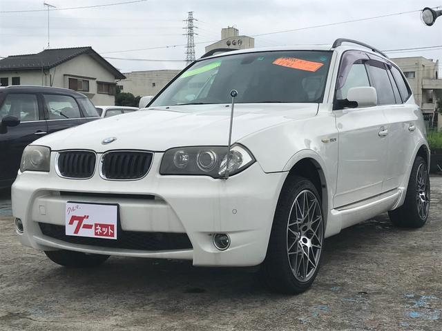 BMW X3 2.5i Mスポーツパッケージ 19AW ETC Pシート