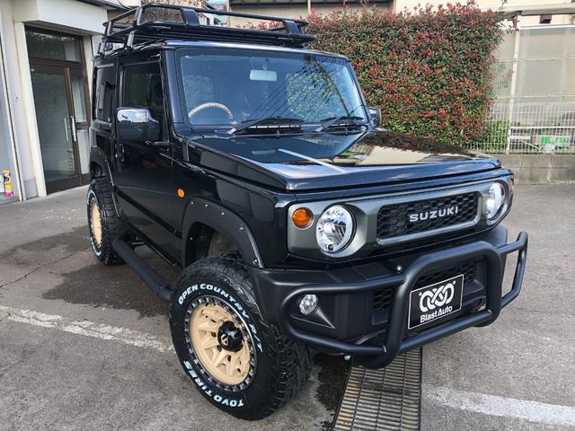 スズキ XL (GI REAR)グリルガード サイドステップ ルーフラック SUZUKIグリル16インチアルミ TOYOオープンカントリー235/70r16新品タイヤ