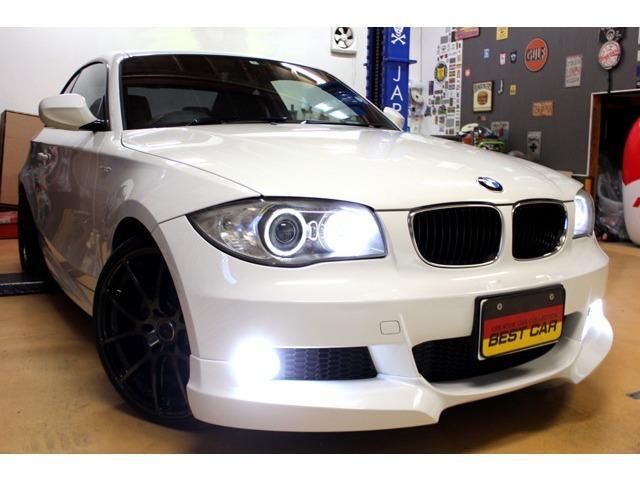 BMW 120i MスポーツPKG 19inアルミ フロントエアロ