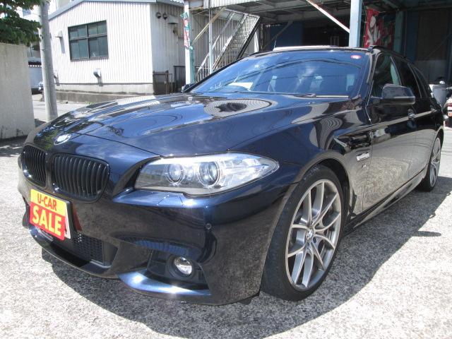 BMW 523dツーリング Mスポーツ サンルーフ TV