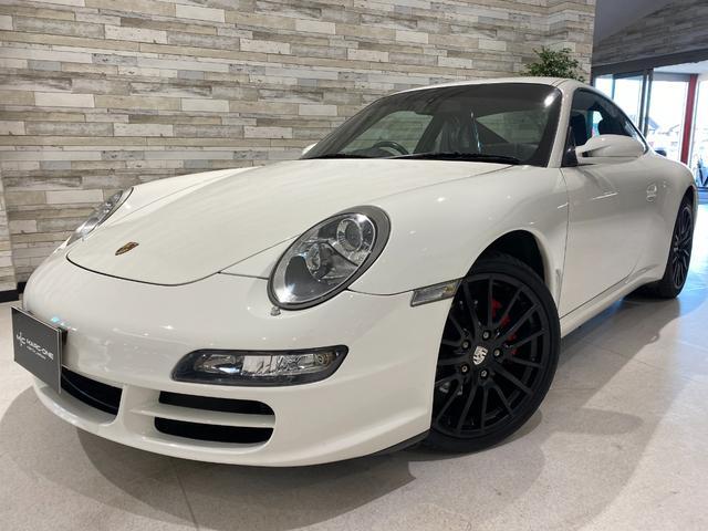 ポルシェ 911カレラ 右ハンドル オプションホイール 新品タイヤ 黒革シートヒーター 禁煙 ナビ フルセグTV Bluetooth バックカメラ オートエアコン レッドキャリパー HIDヘッドライト ETC