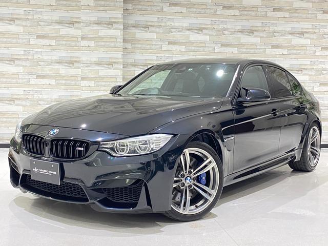 BMW M3 メモリー付き電動黒革シート/シートヒーター/フルレザーメリノインテリア/HUD/純正HDDナビ/フルセグTV/BT&USB接続/HDD音楽/バックカメラ/障害物センサー/クルコン/OP19inchAW