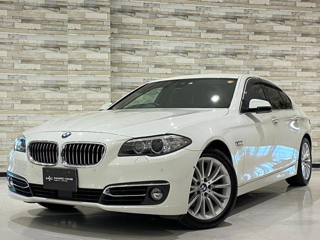 BMW 523iラグジュアリー 法人1オーナー/アクティブクルーズコントロール/インテリジェントセーフティ/コンフォートアクセス/ヘッドアップディスプレイ/純ナビ/フルセグ/BT&USB接続/右前左前&バック&パノラマカメラ