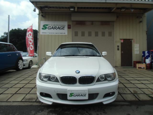 BMW 330Ci Mスポーツ 社外ナビ 18AW ETCローダウン