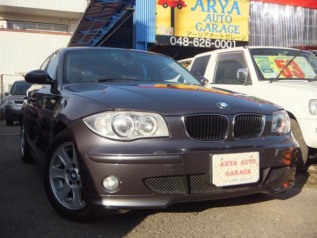 BMW 118i キーレス CDステレオ 禁煙車 アルミ