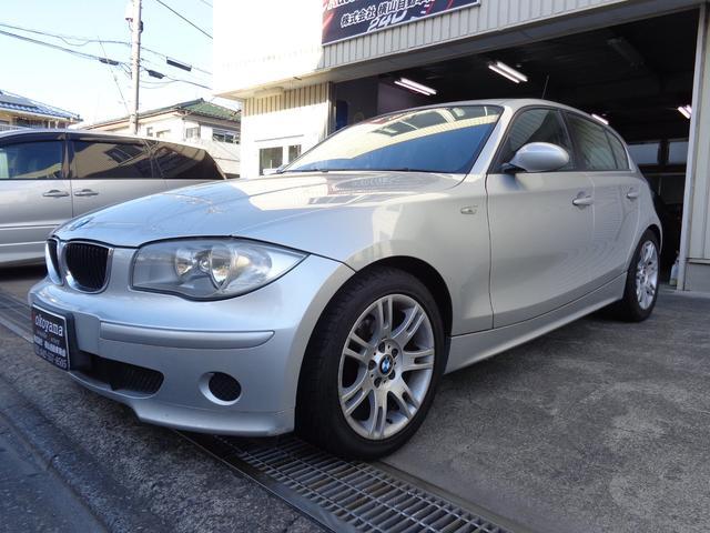 BMW 116iナビ17インチアルミETCタイヤ新品