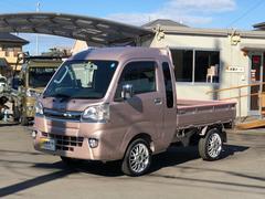 ハイゼットトラックジャンボ 4WD 純正SDナビ HIDヘッドライト ETC
