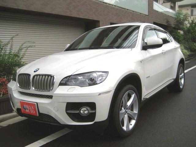 BMW アクティブハイブリッドX6 4WD ガラスサンルーフ