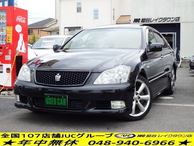 トヨタ アスリート 60thSED 黒革 SR HDD 2年保証付
