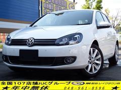 VW ゴルフTSIハイライン 社外HDDナビ 地デジ キセノン ETC