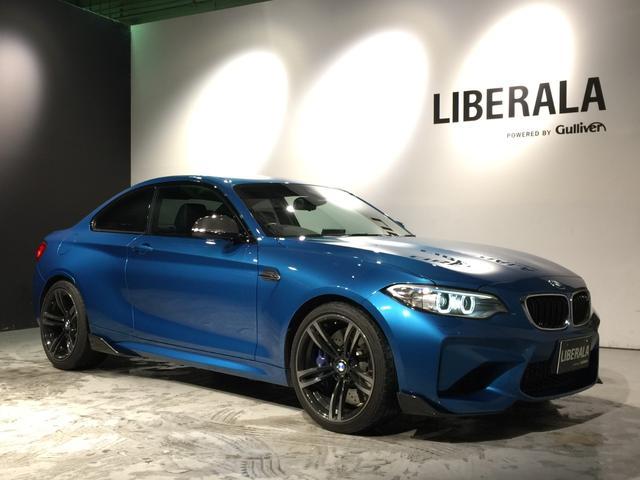 BMW M2 ベースグレード ワンオーナー/インテリセーフ/クルコン/黒革シート/シートヒーター/バックカメラ/19インチAW