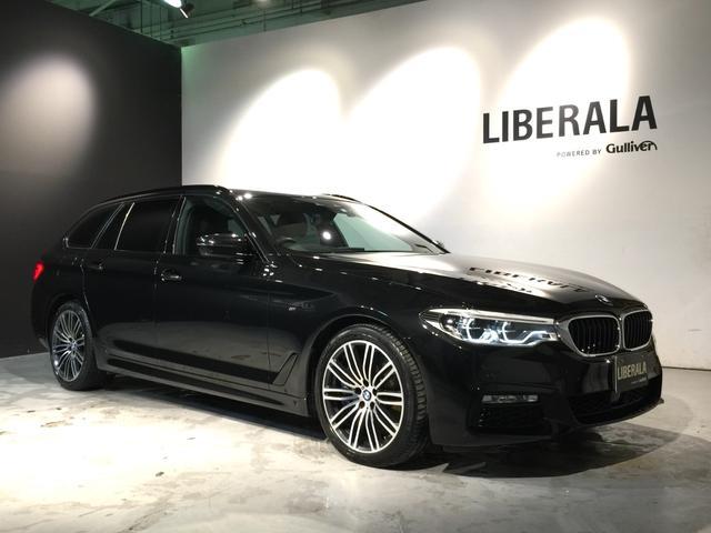 BMW 5シリーズ 540i xDriveツーリング Mスポーツ ハイラインPKG/イノベーションPKG/インテリジェントセーフティ/ACC/黒革シート/シートヒーター/トップビューカメラ/バックカメラ/HUD