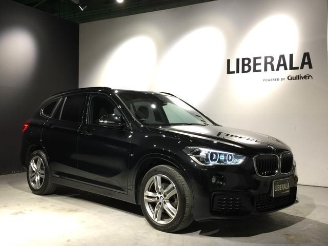 BMW X1 xDrive 18d Mスポーツ 1オーナー・衝突軽減B・ACC・LEDヘッド・純正HDDナビ・Bカメラ・HUD・インテリジェントS・コンフォートアクセス・LEDヘッド・レーンアシスト