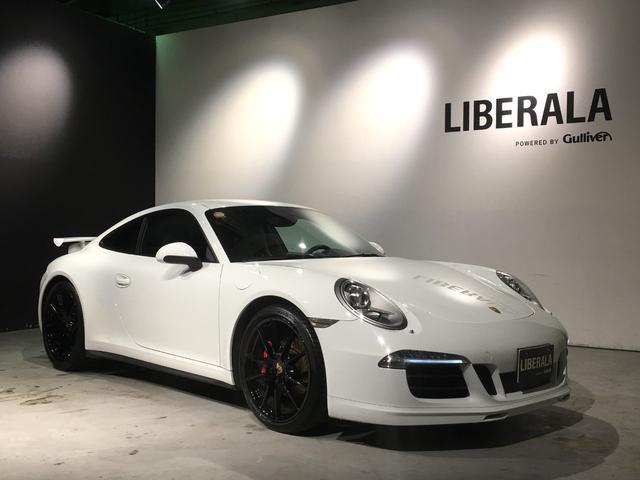 ポルシェ 911 911カレラ4 ワンオーナー・スポーツクロノPKG・スポーツエグゾースト・純正カップエアロキット・黒革・シートヒーター・・オートエアコン・電動格納ミラー