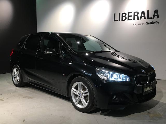 BMW 2シリーズ 218d xDriveアクティブツアラー Mスポーツ 衝突軽減B・ACC・インテリジェントS・ 純正HDDナビ・ヘッドアップD・バックカメラ・ETC・前後コーナーセンサー・パドルシフト