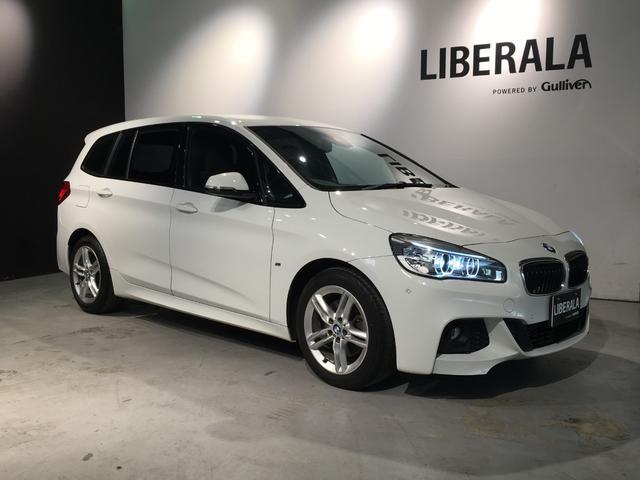 BMW 2シリーズ 218d xDriveグランツアラー Mスポーツ インテリジェントS・コンフォートA・地デジTV・純正HDDナビ・バックカメラ・前後コーナーセンサー・シートヒーター・ETC