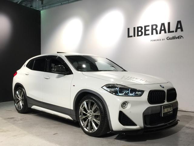 BMW X2 xDrive 18d MスポーツX パノラマサンルーフ/アドバンスドアクティブセーフティpkg/インテリジェントセーフティ/社外19inchAW/maxton designエアロ/H&Rダウンサス/バックカメラ/ETC