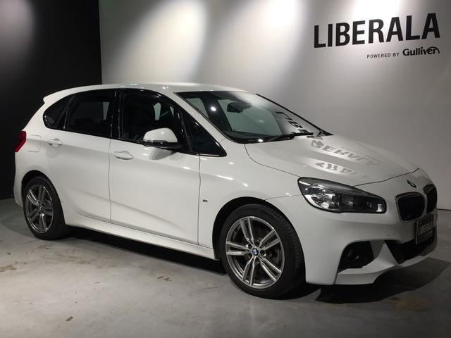 BMW 2シリーズ 225i xDriveアクティブツアラー Mスポーツ 衝突軽減 純ナビ ETC 電動Rドア インテリジェントセーフティ パーキングアシストバックカメラ オートライト HIDライト フォグ 前席パワーシート ミラー内蔵型ETC