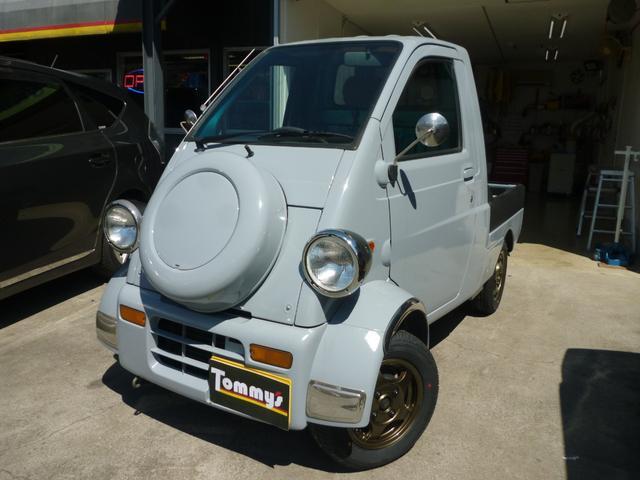 ダイハツ ミゼットII Dタイプ ・外装全塗装 内張り張替え 12インチアルミホイール 新品タイヤ 4速マニュアル 走行34900キロ